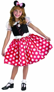 Minnie Mouse 7 To 8 Costume