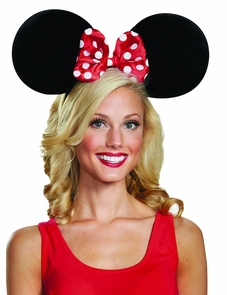Minnie Mouse Adult Ears Oversz Costume