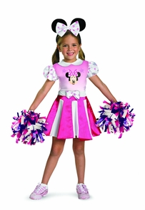 Minnie Mouse Cheerleader 3t-4t Costume