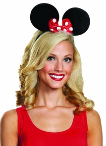 Minnie Mouse Ears Dlx Exclusiv Costume