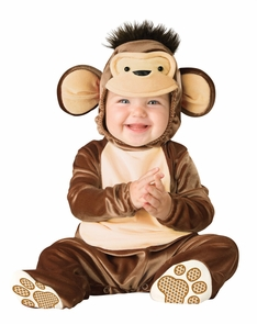 Mischievous Monkey Todd 12-18 Costume