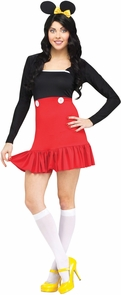 Miss Mikki Adult Small Costume