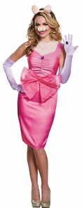 Miss Piggy Deluxe Adult 12-14 Costume