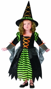 Miss Witch Child 12-14 Costume