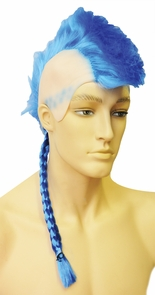 Mohawk Bargain Blue Costume