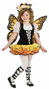 Monarch Butterfly Chd Lg 12-14 Costume