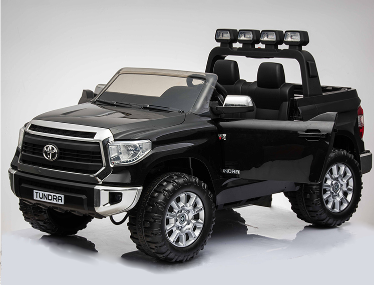 Magic Cars Toyota Tundra Ride On 2 Seater Monster Pickup Truck Kid S Car With Wireless Parent R C Remote Control System And Custom License Plate