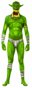 Morph Jaw Dropper Green Adt Xl Costume
