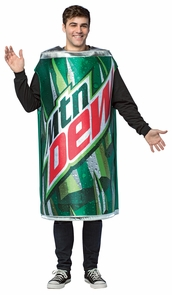 Mountain Dew Get Real Can Costume