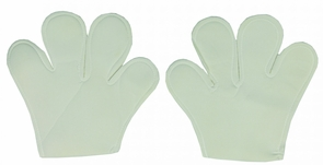 White Mouse Mitts Costume