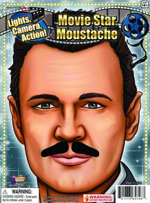 Moustache Hollywood Vintage Costume