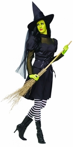 Ms. Wick'd Adult Sm Med 2-8 Costume