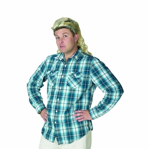 Mullet Bleached Wig Costume