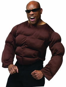 Muscle Chest African American Costume
