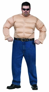 Muscle Man Shirt Plus Costume