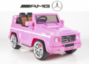 Magic Cars� My Pink Electric Mercedes G55 RC Ride On Car For Children