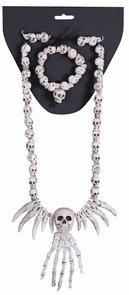 Necklace Bracelet Combo-skulls Costume