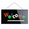 Neon Display Sign Board 12v Animated RGB LED WELCOME
