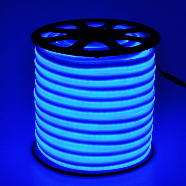 Neon flex led 150 holiday decorative rope lighting in blue mozeypictures Images