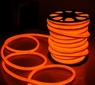 Neon Flex LED 150' Holiday Decorative Rope Lighting in Orange