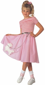 Nifty Fifties Costume Child Sm Costume