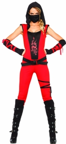 Ninja Assassin 4 Pc Red Costume