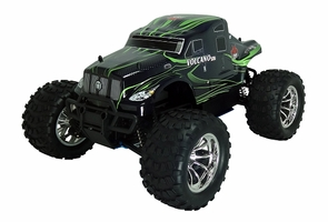 Nitro RC Escalade Style Monster Semi Truck w/Huge .18 Racing Engine And 8 Oil Filled Shocks