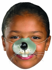 Nose Mouse W Elastic Costume