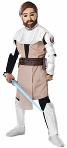 Obi Wan Kenobi Dlx Child Mediu Costume