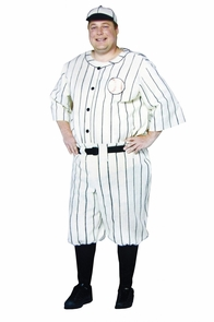 Old Tyme Baseball Player Plus Costume