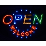 Open Welcome Flashing LED Display Sign Indoor