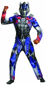 Optimus Prime Cl Muscle 10-12 Costume