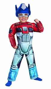 Optimus Prime Rescue Bot Muscl Costume