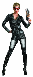 Ors Lady Commando Adult 8-10 Costume