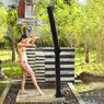 Outdoor Pool Spa Solar Shower With Base Stand