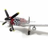 P51 Mustang Ready To Fly RC Airplane - 4 Channel
