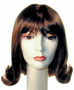 Banged Prom Pageboy Wig Costume