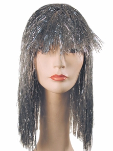 Pageboy Tinsel Silver Costume
