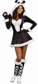Panda Bear Baby Large Costume