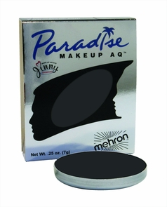 Paradise Single Refill Black Costume