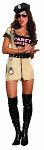 Women's Party Police Costume
