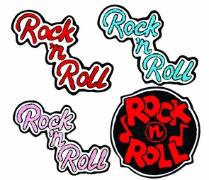 Patch Chenille Rock N Roll Costume