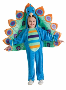 Peacock Toddler Costume Costume