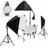Photo Shooting Table 12x 45w Continuous Lighting Kit