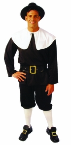 Pilgrim Man Large Costume
