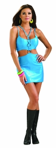 Women's Polly Go Brightly Costume