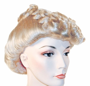 Pompadour 1940 30 Md Brown Red Costume