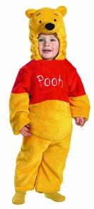Pooh Deluxe Plush 12-18 Months Costume