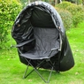 Pop Up Deer Ground Hunting Chair Blind Camouflage