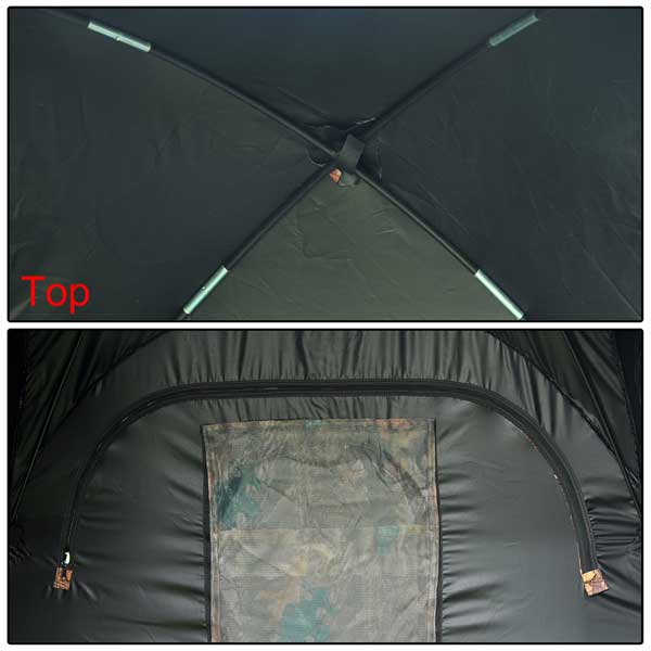 & Pop Up Ground Hunting Blind Camo Tent 2 Man